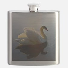 swan shirt Flask