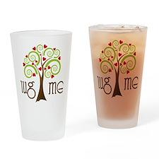 Hug Me Drinking Glass