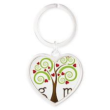 Hug Me Heart Keychain