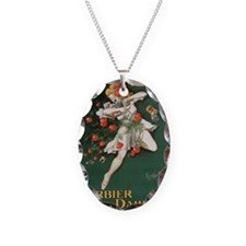 Barbier Dauphin Necklace Oval Charm