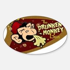 DRUNKEN MONKEY Decal