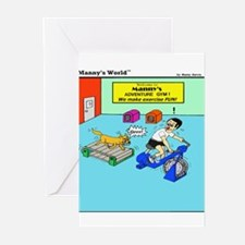 ADVENTURE GYM Greeting Cards (Pk of 10)