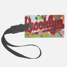 Brooklyn - Red Road to Mars Luggage Tag