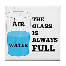 Glass Theory Tile Coaster