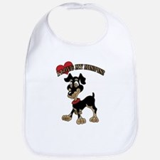 I love My Minpin Bib
