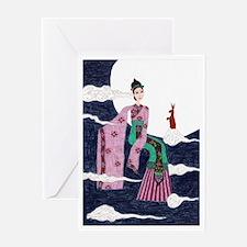 Chang E Greeting Card