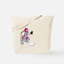 pink2 Access Denied on black Tote Bag