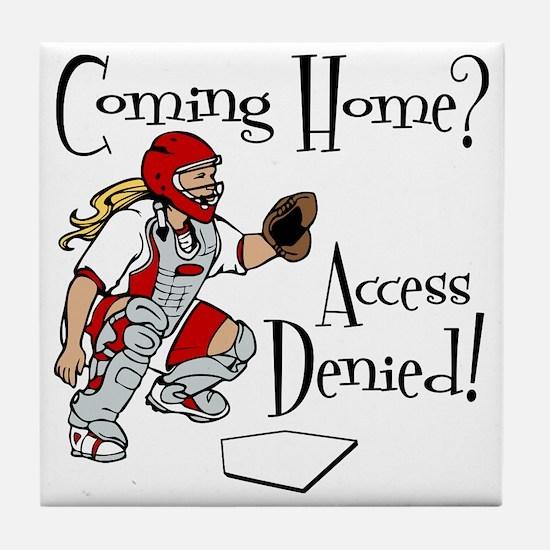 Access Denied Tile Coaster
