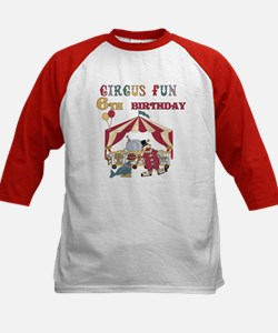 Circus Fun 6th Birthday Tee