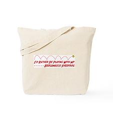 Bergamasco Play Tote Bag