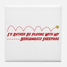 Bergamasco Play Tile Coaster
