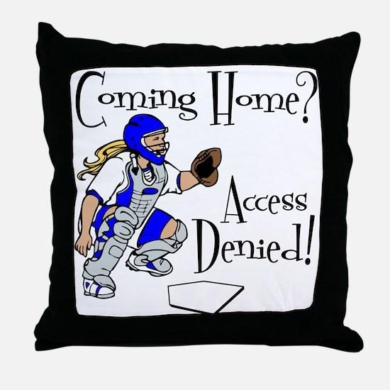 Access Denied Throw Pillow