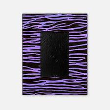 Purple Zebra Stripe Picture Frame