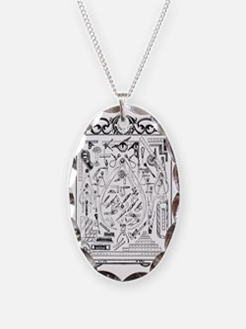 Machinist Tools Masonic Freema Necklace