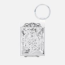 Machinist Tools Masonic Fr Keychains
