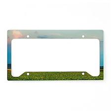 Lone Barn License Plate Holder