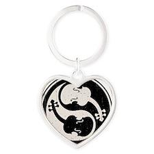 viol-yang4-T Heart Keychain