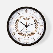 Napoleon gold ! (exclamation mark) Wall Clock