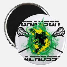 Grayson Lacrosse Magnet