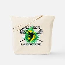 Grayson Lacrosse Tote Bag