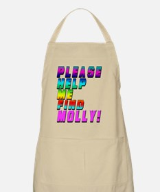 Please Help Me Find Molly - Music Festival S Apron