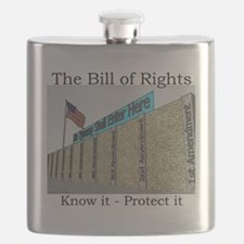 The Wall Against Tyranny Flask