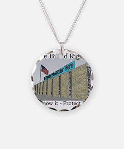 The Wall Against Tyranny Necklace