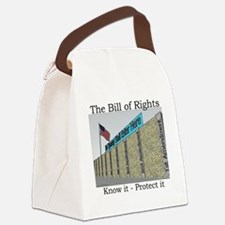 The Wall Against Tyranny Canvas Lunch Bag