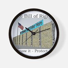 The Wall Against Tyranny Wall Clock