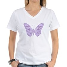 Lavender Butterfly Shirt