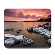 Ice  Fire Mousepad