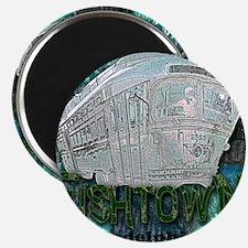 Philadelphia Fishtown Trolley Magnet