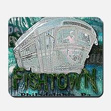 Philadelphia Fishtown Trolley Mousepad