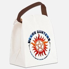 Demon Hunters Killing evil sons o Canvas Lunch Bag
