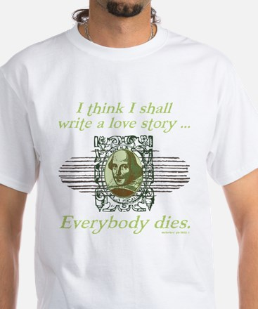 Shakespeare Love Story T-Shirt