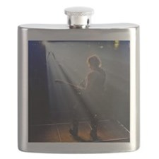 Chads Concert Pix poster Flask