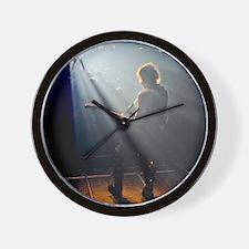 Chads Concert Pix poster Wall Clock