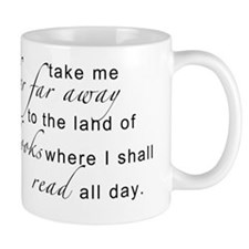 land of books Mug