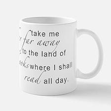 land of books Small Mugs