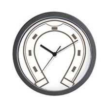 Cool Retro Horseshoe Wall Clock