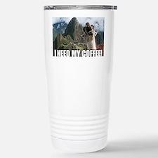 Bossy the Llama coffee Travel Mug