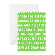 Celery SP Cities Greeting Card