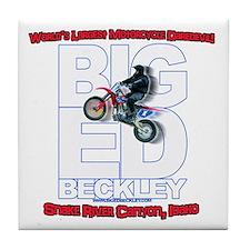 Big Ed Beckley, Worlds Largest Motorc Tile Coaster