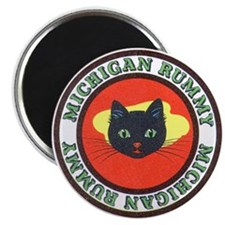 "Michigan Rummy 2.25"" Magnet (10 pack)"