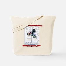 Big Ed Beckley, Worlds Largest Motorcycle Tote Bag