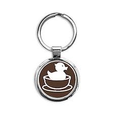 DSLogo Round Keychain