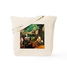 Giorgione The Tempest Tote Bag
