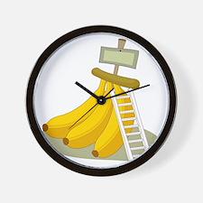 Banana Bunch Wall Clock