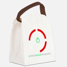 Red Ring of Death Canvas Lunch Bag