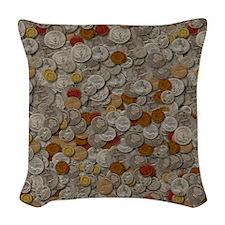 iPAD Woven Throw Pillow